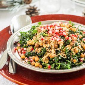 Frillice salat kikerhernestega